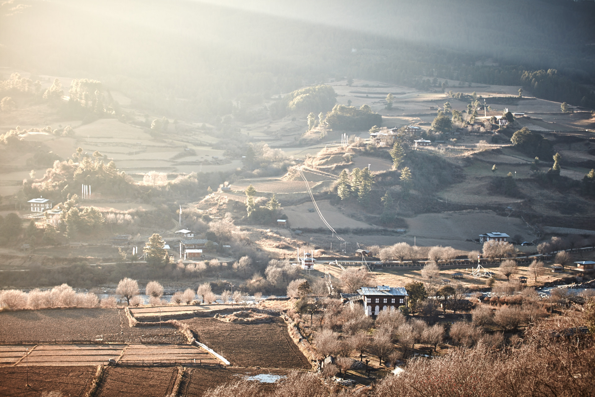 Chasing the light in Central Bumthang