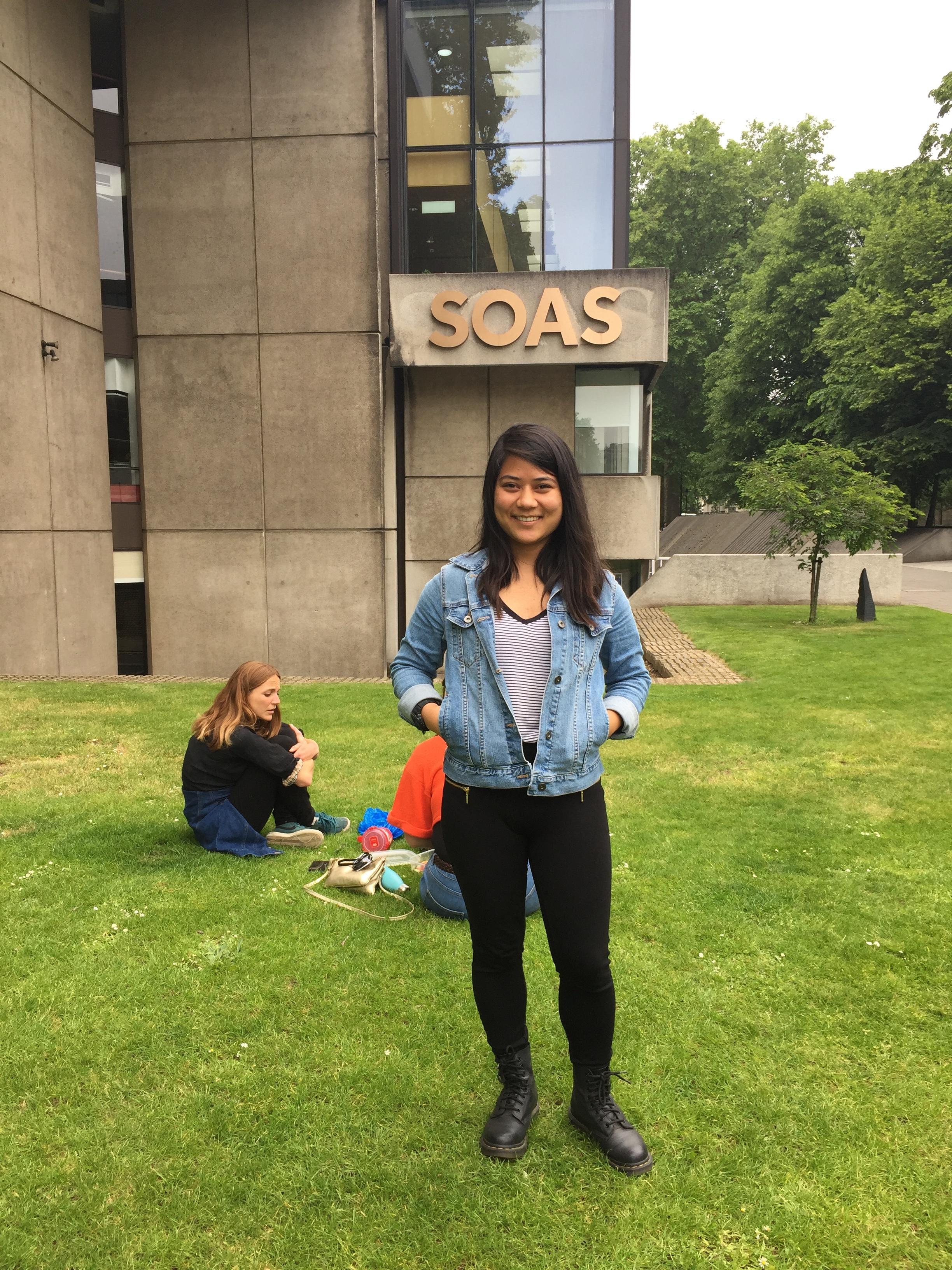At SOAS, London