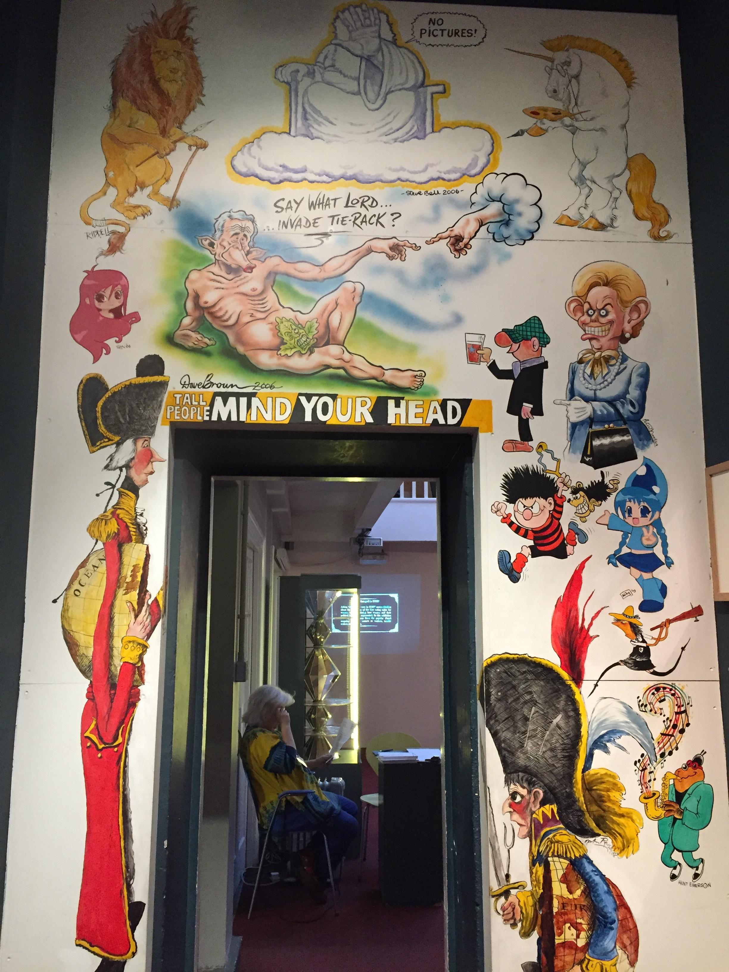 The Cartoon Museum. London
