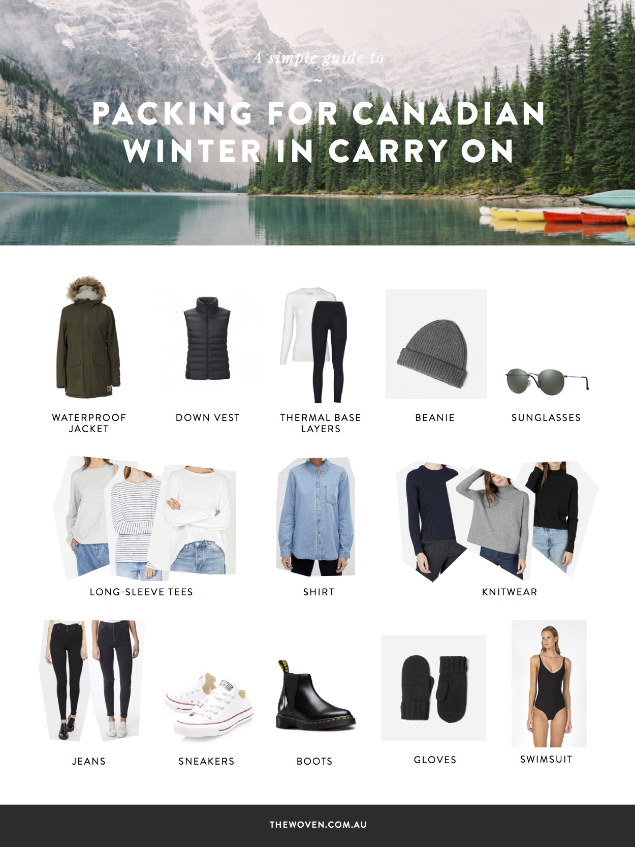 Packing Canada Winter