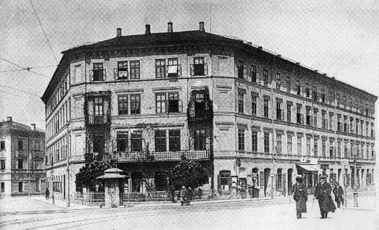 Das FÜNFHAUS wurde 1862 -64 ungefähr zeitgleich mit dem Salzburger Hauptbahnhf in der Salzburger Neustadt errichtet.
