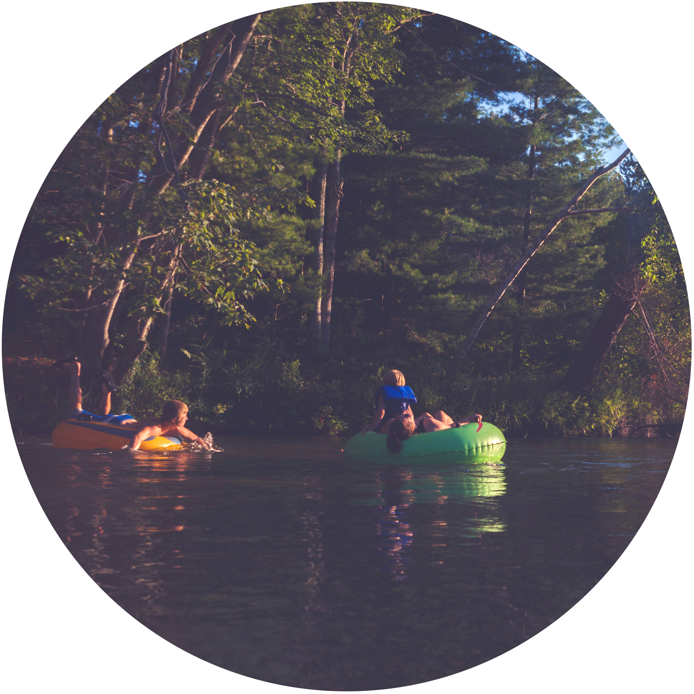 Root River Tubing  Park and never leave the Resort. Various launch and exit points directly on property. Purchase tubes from the Old Barn Resort. Affordable prices. Only dollars more than renting from other local vendors. Simply use our air station to inflate and enjoy.