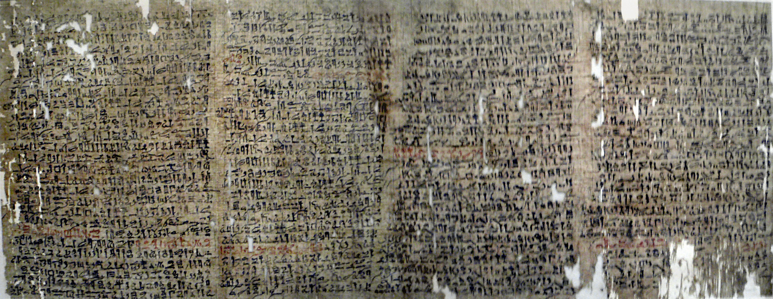 The Westcar Papyrus dates to around the 18th Century BCE and seems to tell the story of a magician performing 'miracles' in the court of the Egyptian pharaoh Khufu. While the story is probably best considered as a fairy tale  rather than a historical account , it nonetheless shows that the idea of performing miraculous tricks for audiences dates back to some of the world's earliest written records.