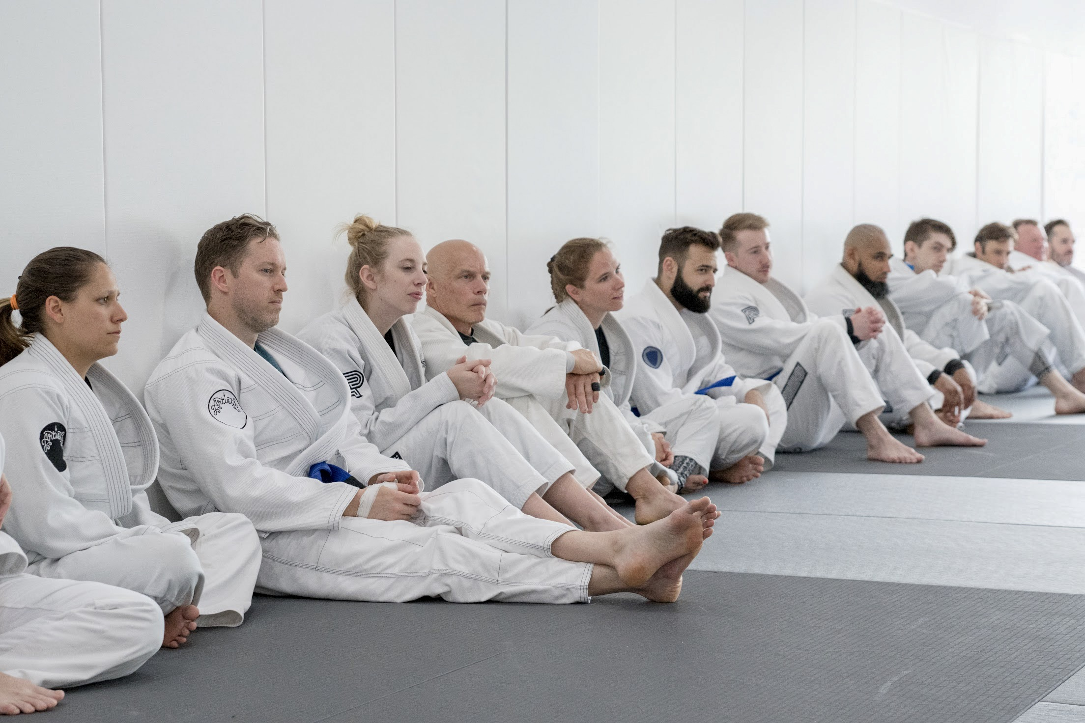 - FUNDAMENTALSOur Fundamentals program is designed for any adult male or female regardless of size or age. No experience required, anyone can join! You will increase confidence, endurance, strength, flexibility and your Jiu-Jitsu knowledge.