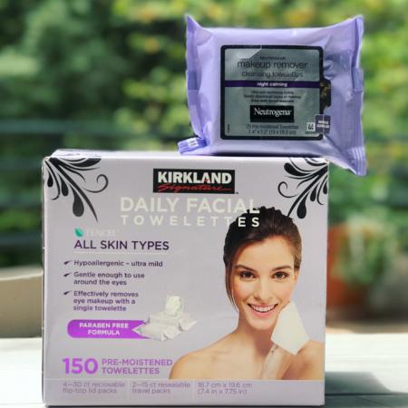 kirkland make up remover wipes