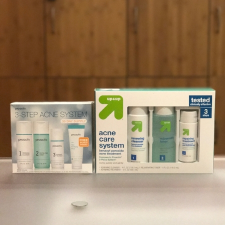 up and up acne care system
