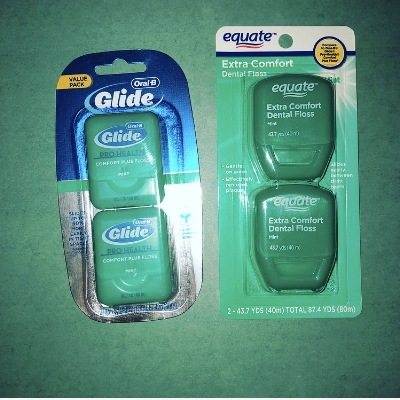 The Glide floss is silky smooth, and won't make flossing such a chore!