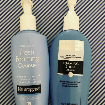 We gave the equate version of this cleanser an 80% similarity score.