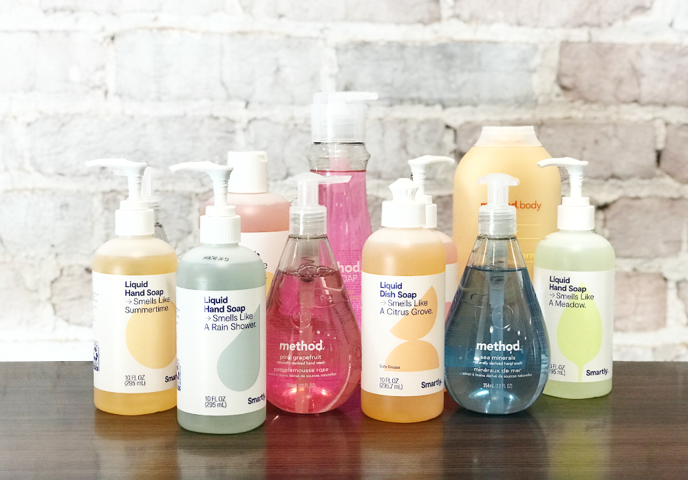 Target's Smartly VS  Method Household Products — Brandefy
