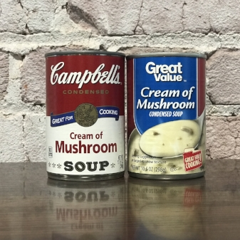 Stick to the Campbell's, thank you very mush!