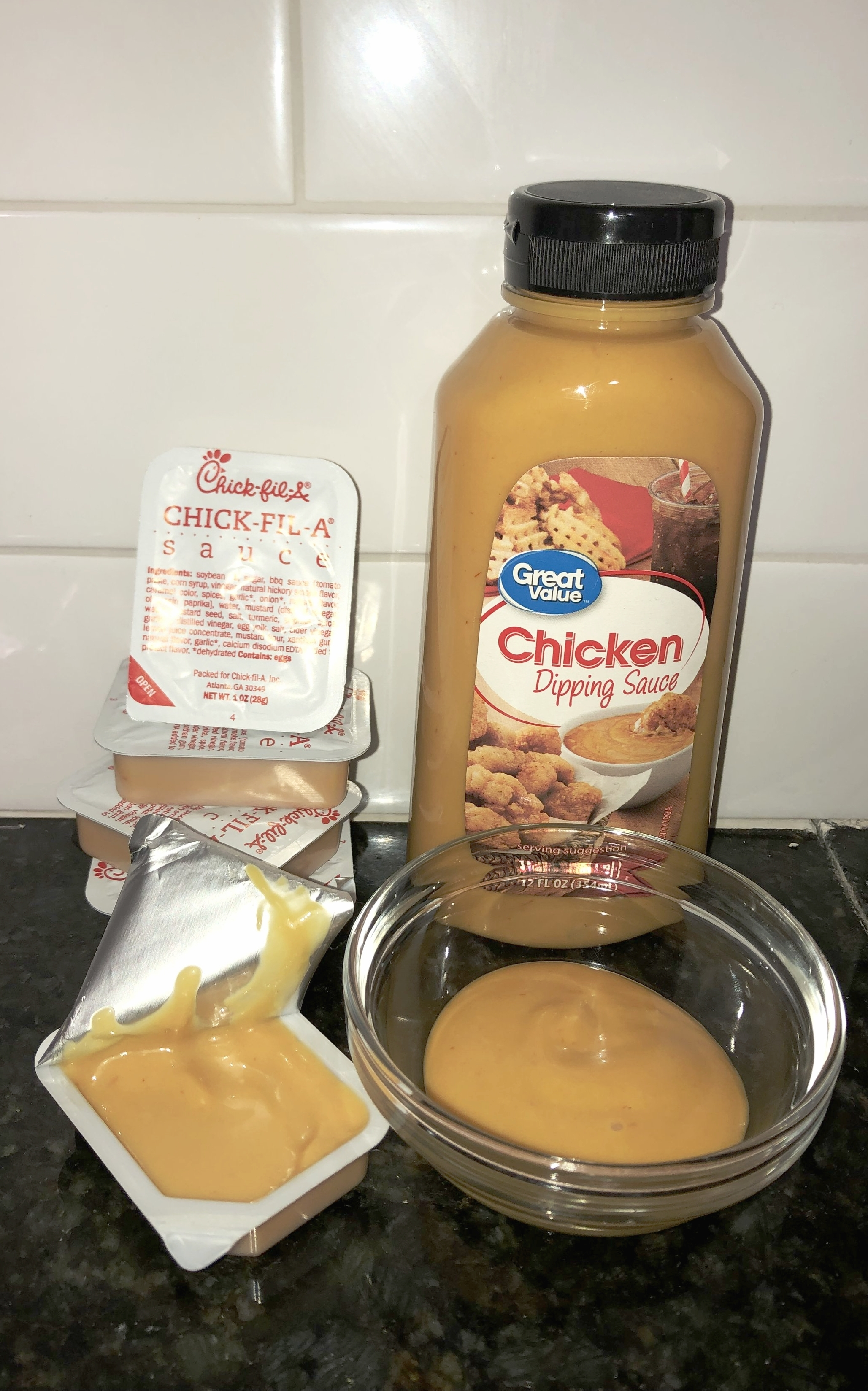 chick fil a sauces