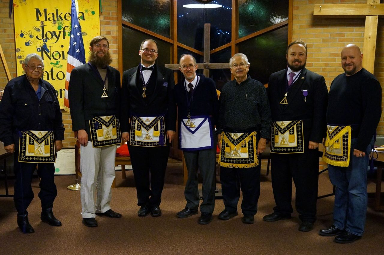 Congratulations go out to the 2015 Ann Arbor Council No. 86 officers installed this evening. We look forward to a great year in Cryptic Masonry.
