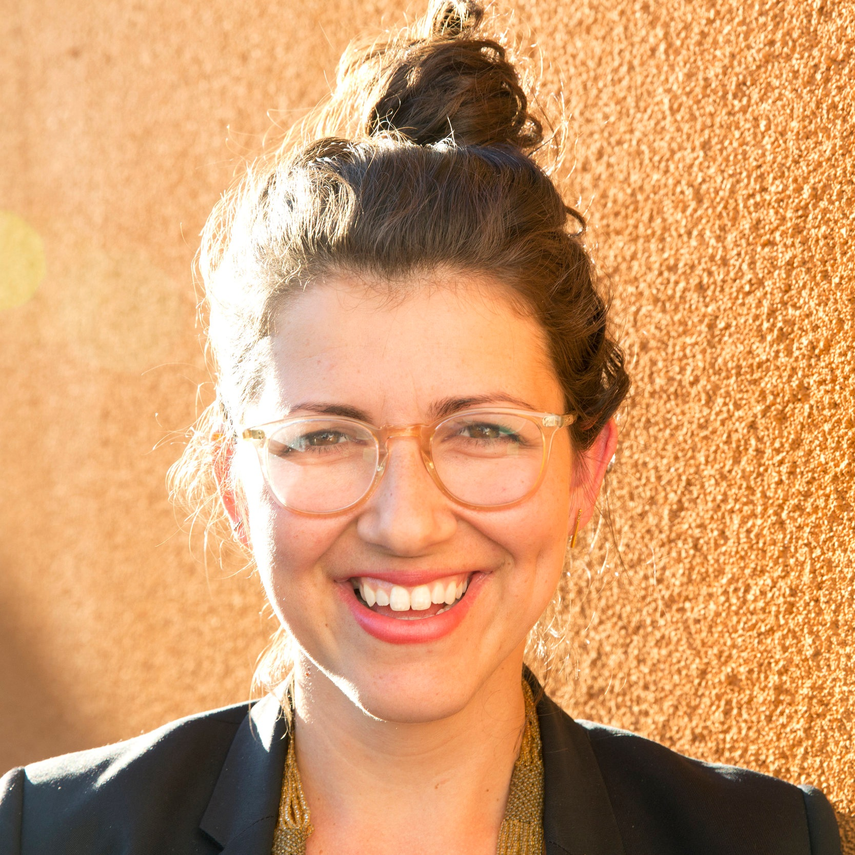 Rebecca Lehrer , Co-founder and CEO of The Mash-Up Americans