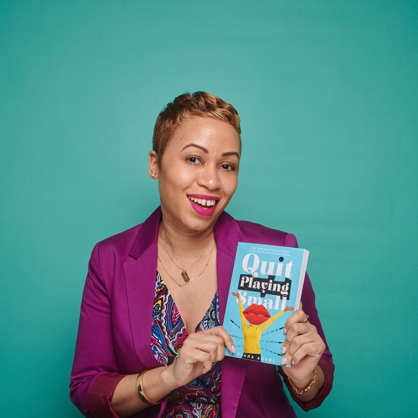 Ahyiana Angel,  Founder, Mayzie Media and Author