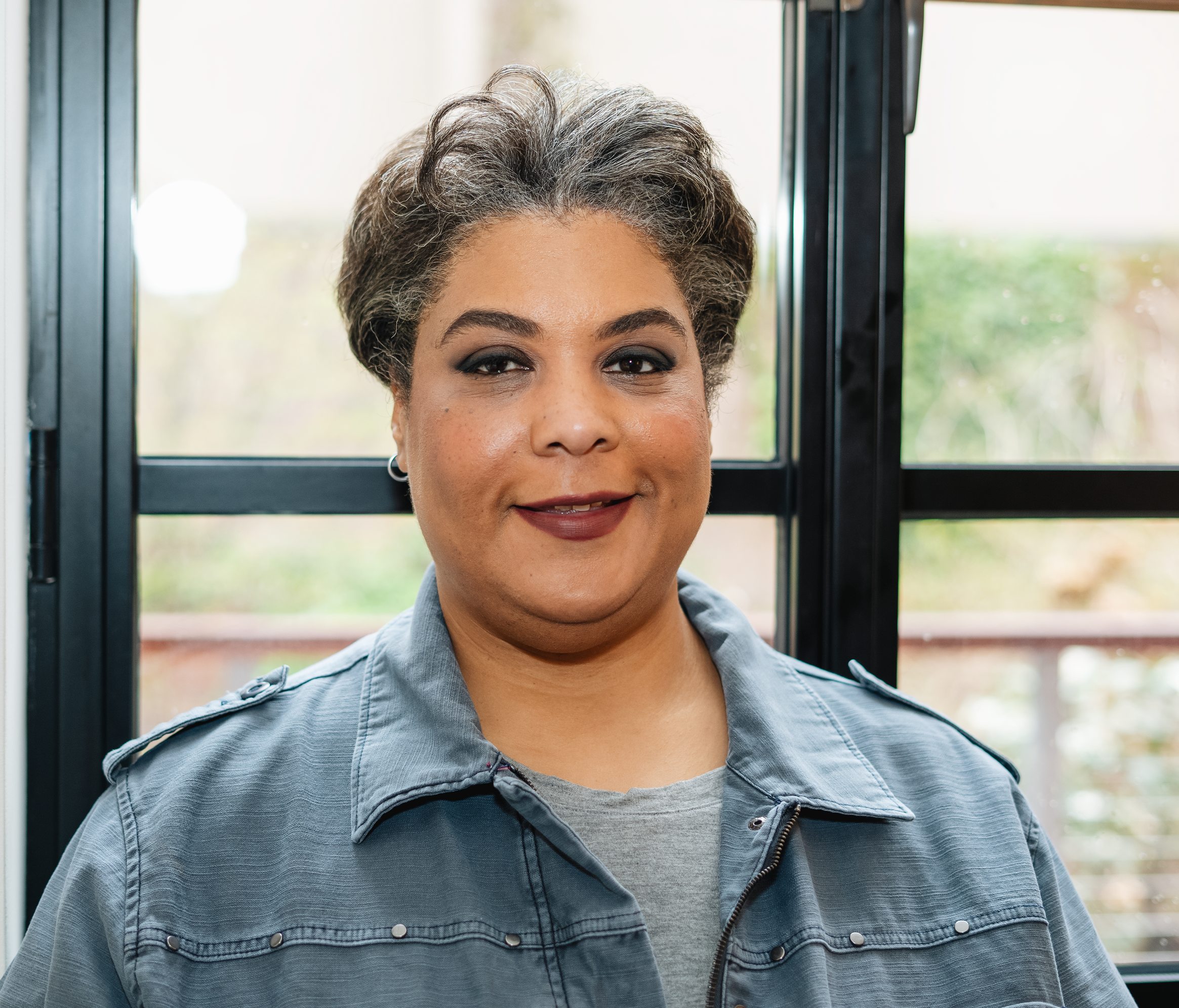 Roxane Gay,  author,  Bad Feminist , Co-Host,  Hear to Slay