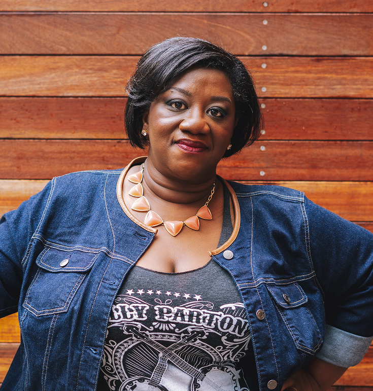 Tressie McMillan Cottom , writer, sociologist, Co-Host,  Hear to Slay