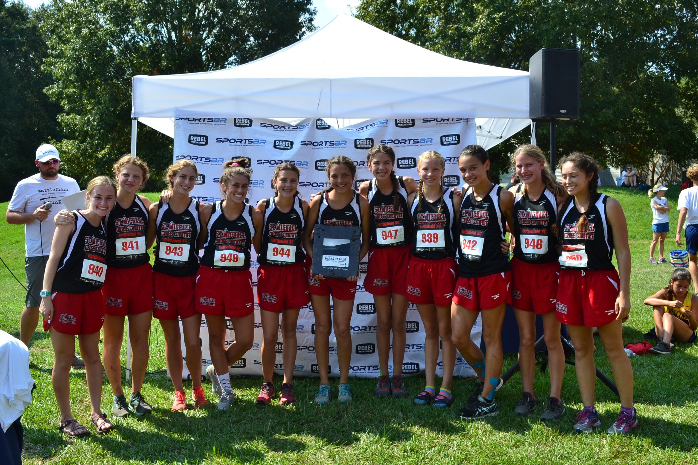 2017 Girl's High School Champions - St. Michael's