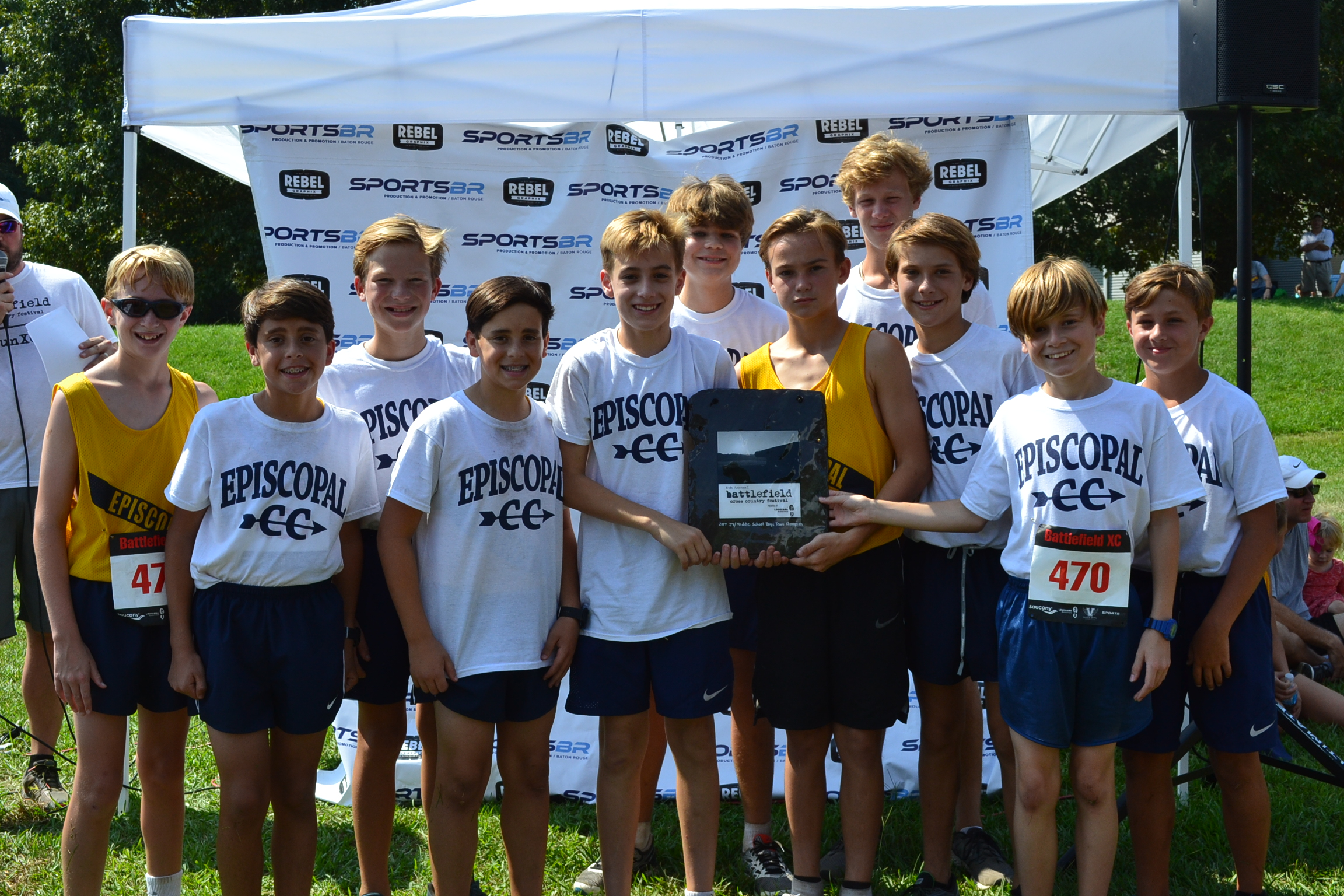 2017 Boys Middle School Champions - Episcopal