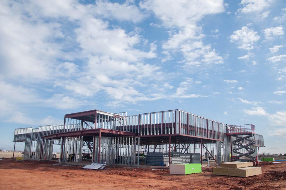 Steel farming in Central Oklahoma