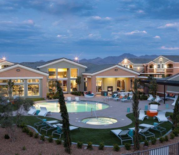 ESR Apartments $24,800,000   223(f) |  Green  Henderson, NV 176 units August 2019