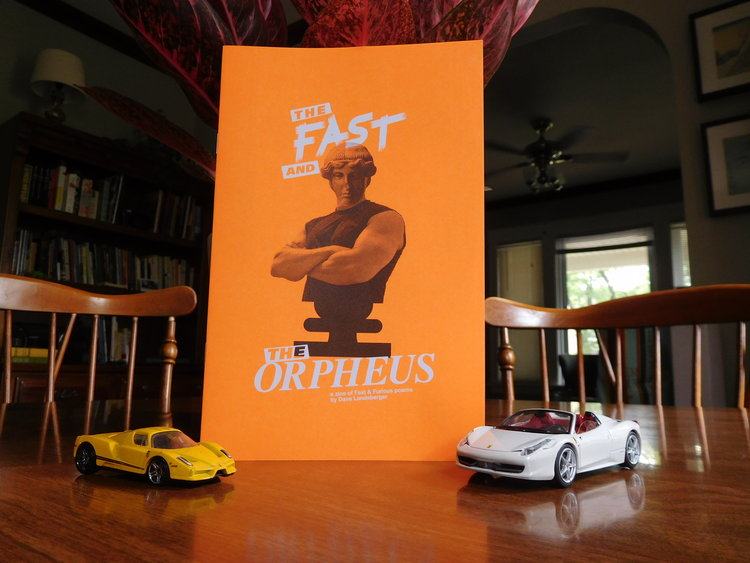 The F & The O with dual Ferrari Hot Wheels