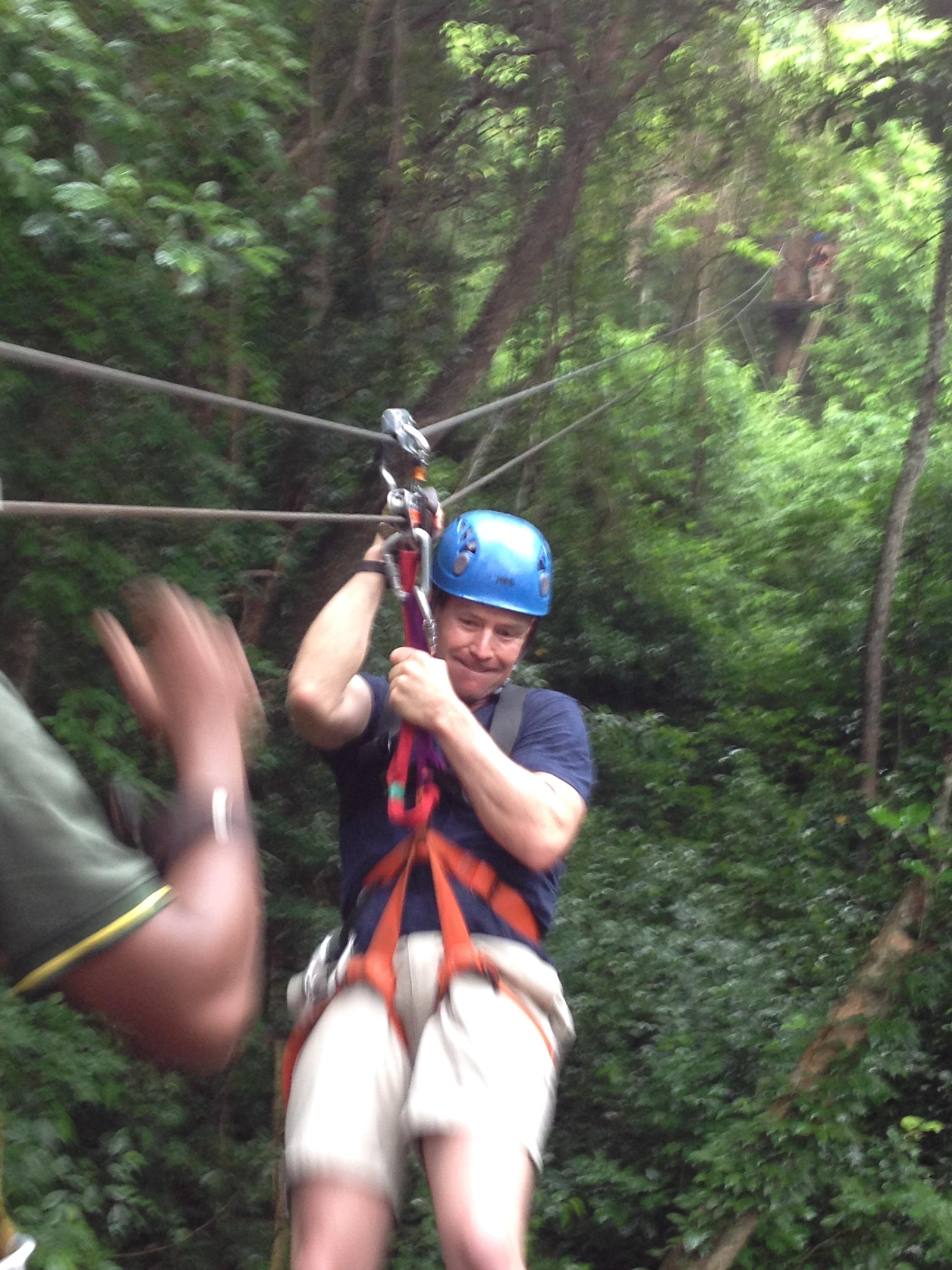 This Zipline is only 10 minutes fom San Juan del Sur Cruise Port