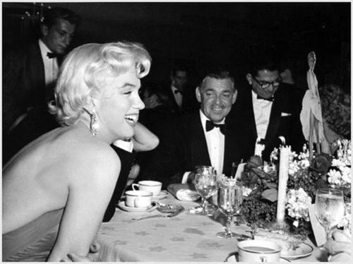 Romanoffs - Marilyn Monroe was reportedly fascinated by the chocolate souffle served at this swanky Beverly Hills restaurant (I will definitely be trying that recipe out soon, so stay tuned!), Now defunct, the glittering restaurant was once a haven for Hollywood stars of yesteryear. Pictured here is a party celebrating The Seven Year Itch that was hosted there.