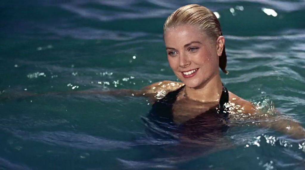 GRACE KELLY THE MERMAID - Grace didn't just swim on-camera... it was one of her favorite hobbies in real life too!