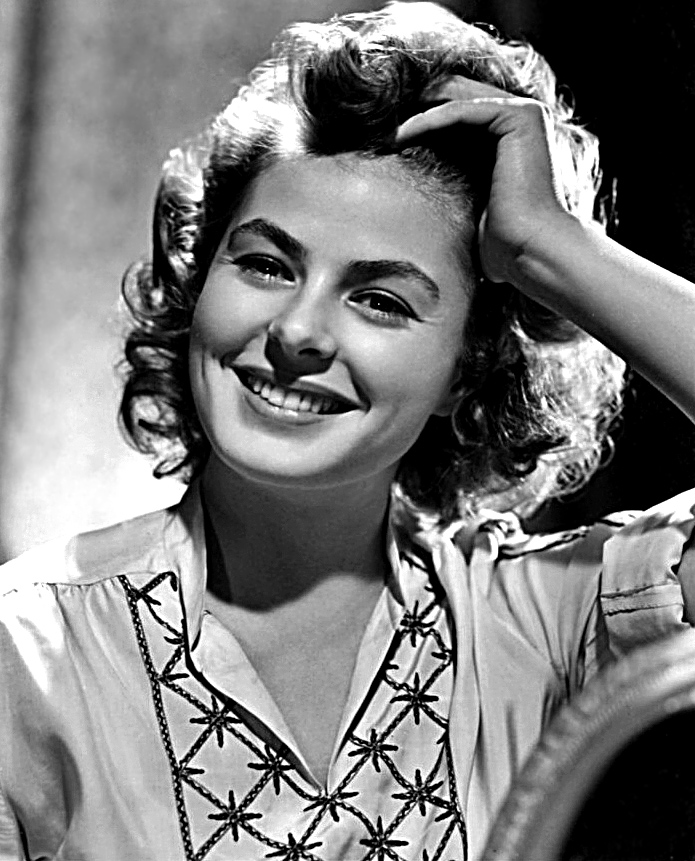 GRACE KELLY'S FAVORITE ACTRESS - Grace's graduation yearbook listed her favorite actress as Ingrid Bergman.Her classic films include Casablanca, and For Whom the Bell Tolls which you can get with this collection.
