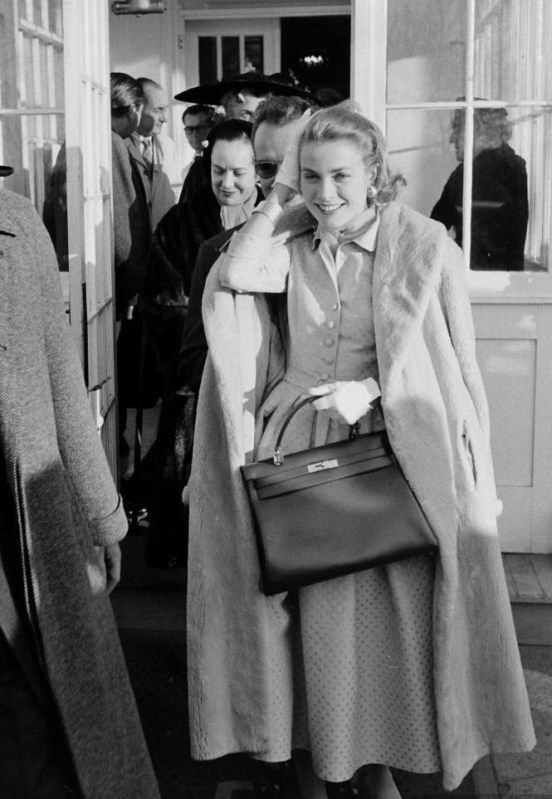 """GRACE KELLY'S FAVORITE Accessories - Grace loved accessories, especially the Hermes brand. Famous costume designer Edith Head once said, """"Gloves and shoes are the only things where Grace loses count of money."""""""