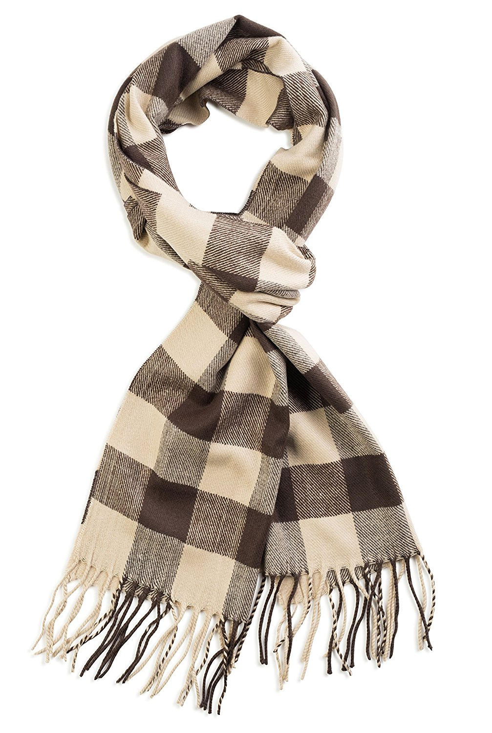 Cashmere Scarf - This scarf summons images of classic starlets traveling in convertible cars alongside their leading men.