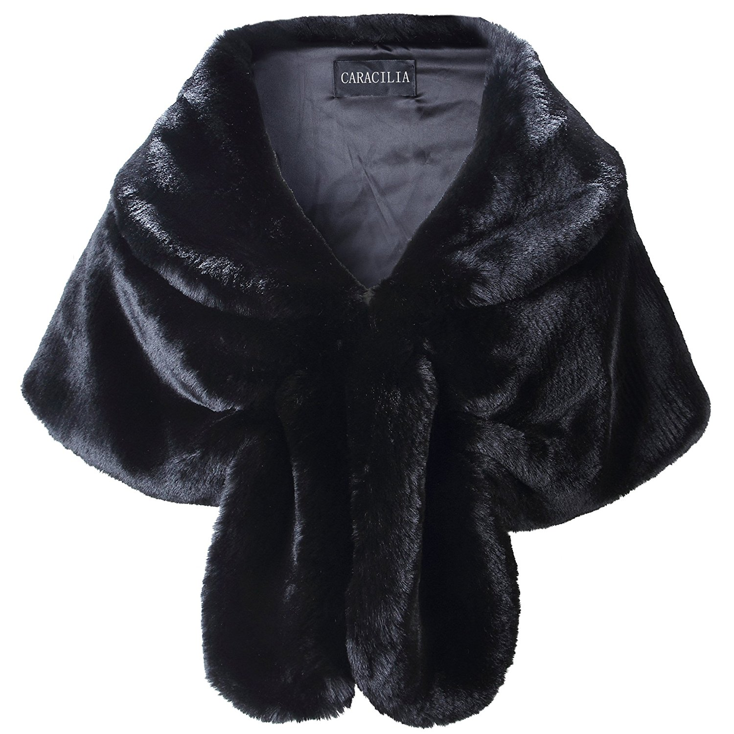 Faux Fur Wrap - For your first premiere.