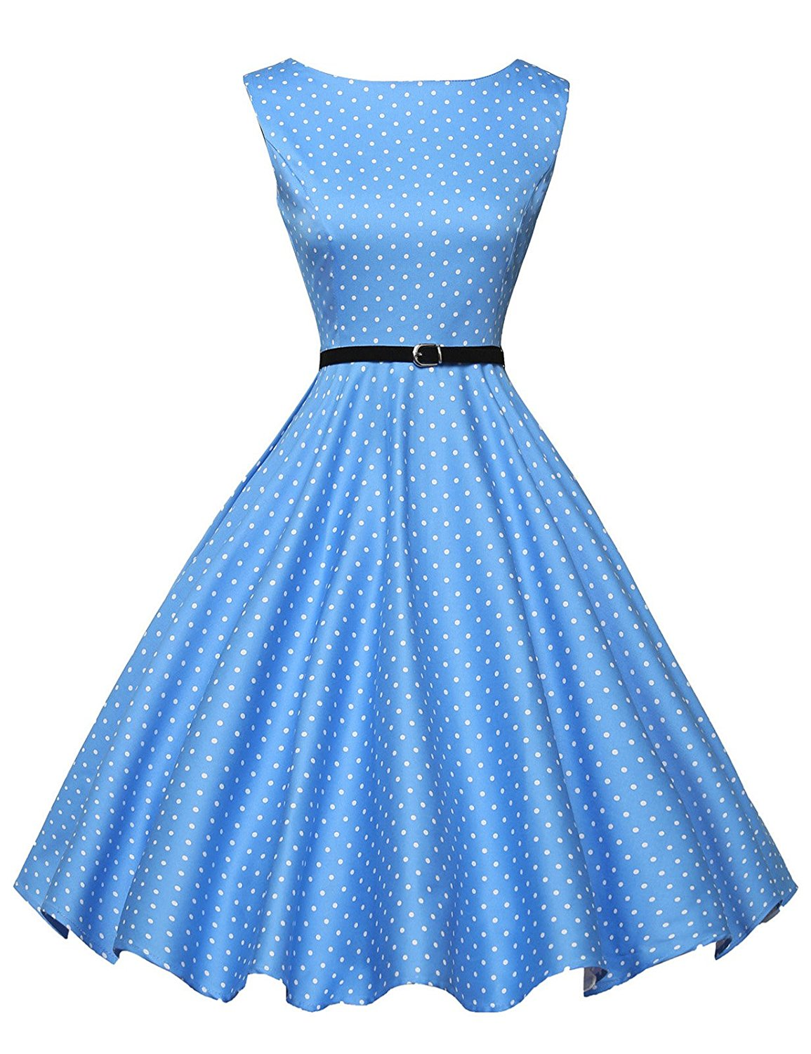 Off to the lake... - This dress will take you from company picnics to evening cocktail parties.
