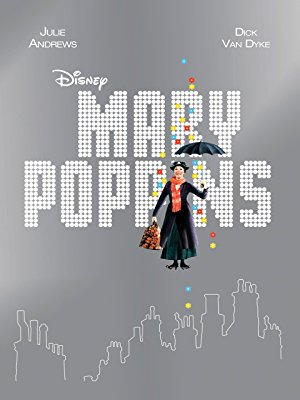 MARY POPPINS - What is more fitting for springtime than strolling through a chalkboard art garden on a