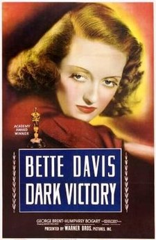 Dark Victory - I feel that it is important to know what actresses and actors feel is their own best performance… what they liked themselves best in. And for Bette, this was it. If you haven't seen it already, be ready for a powerful tour-de-force.