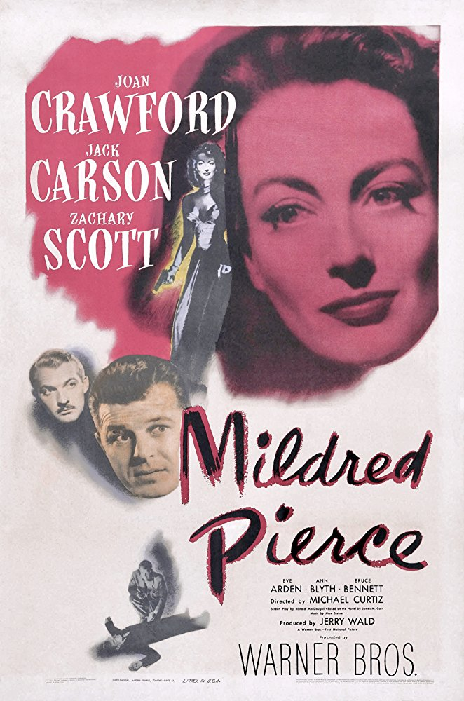 Mildred Pierce - I haven't seen this film yet, but it seems to be a popular pick on the Classic Film boards for Mother's Day. Let's all try it and let each other know what we think?