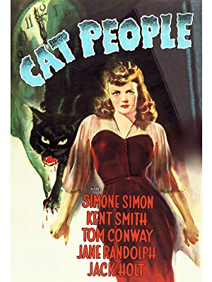 Cat People - With scenes that seem almost Hitchock-ian in their suspense, Cat People tells the tale of a young woman's sexuality complex—namely that she turns into a black leopard whenever she gets in the mood, if you catch my meaning.