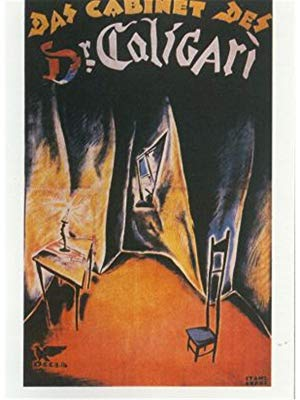 The Cabinet of Dr. Caligari - This Picasso-esque vision of a horror movie tells the story of a deranged hypnotist (Dr. Caligari) who uses his powers of somnambulism to compel an unwitting accomplice (Cesare) to commit murders.