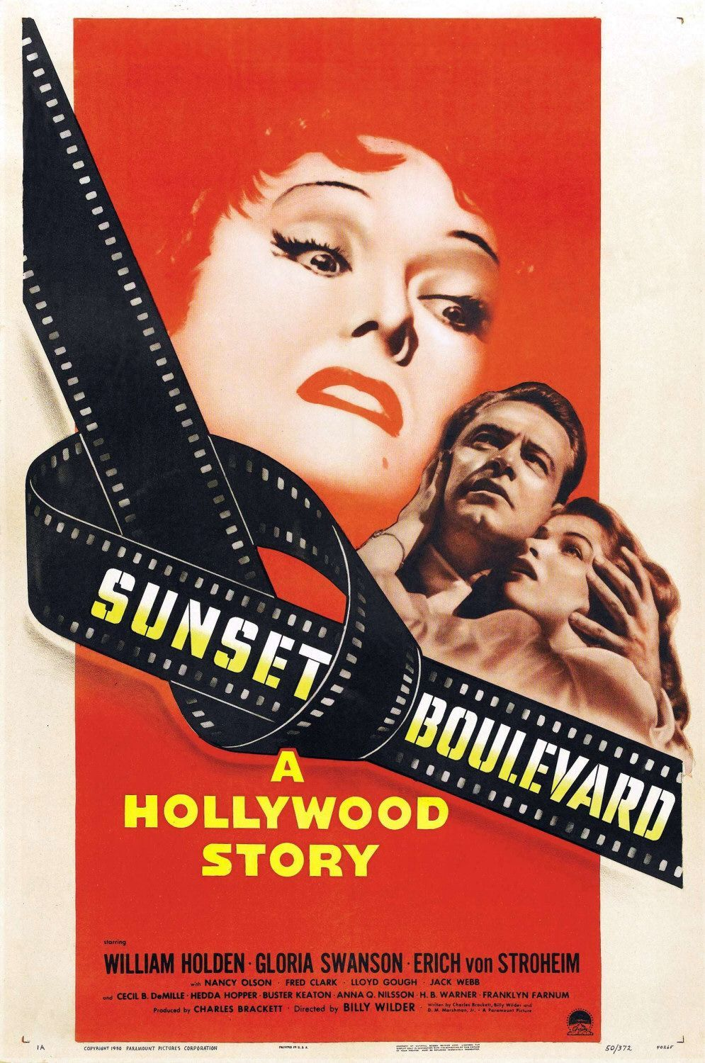 """Gloria Swanson """"Sunset Boulevard"""" - Before there was Fatal Attraction there was Gloria Swanson in Sunset Boulevard. This movie has some incredible jaw-dropping moments, and one can't help but be fiercely loyal to Norma Desmond, in-spite of her… errrr…eccentricities.Why is this a good """"breakup"""" classic movie?Because Norma Desmond. That is all."""