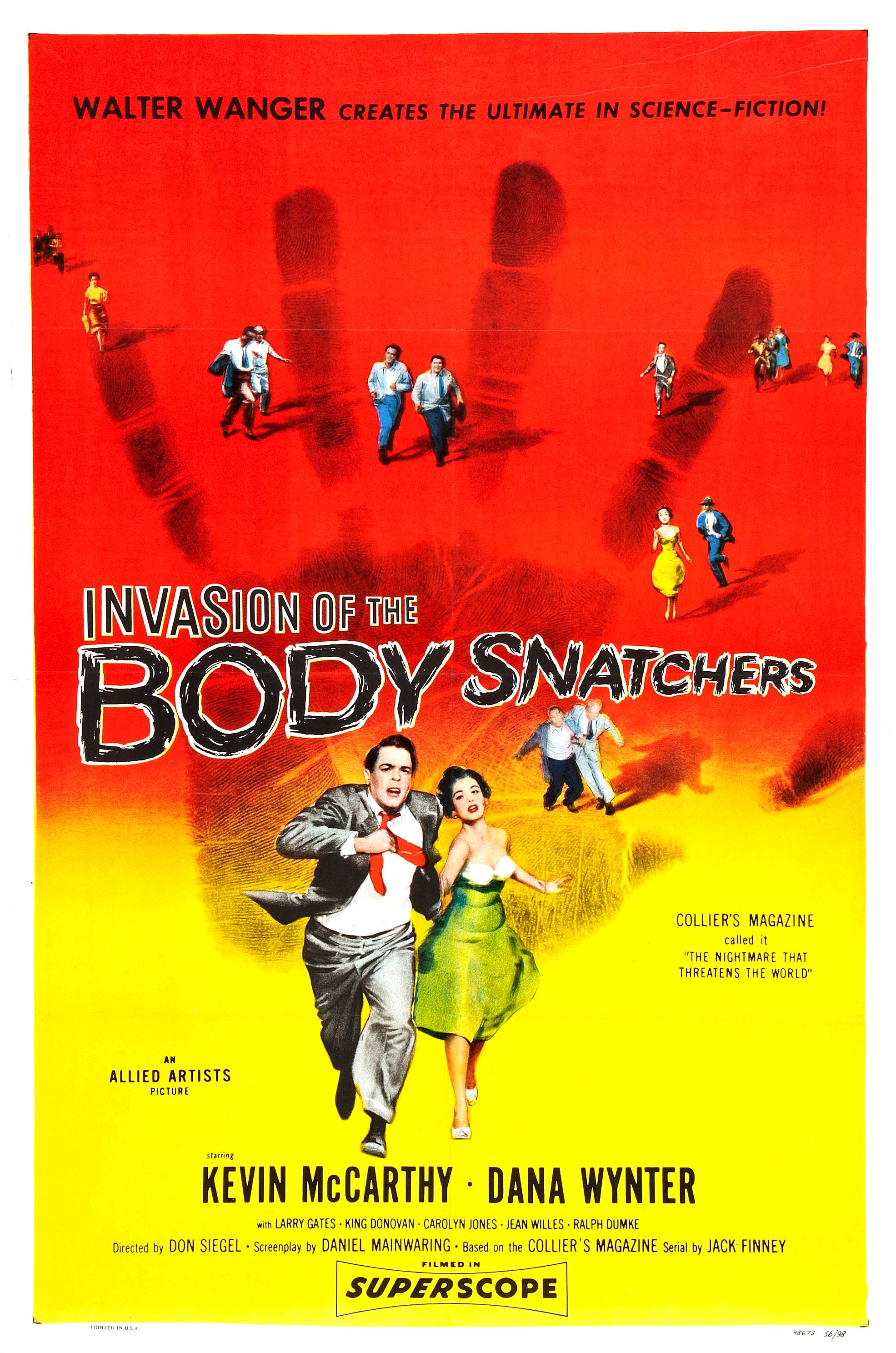 """Invasion of the Body Snatchers - Before you condemn this as a strange addition to the list, ask yourself how you would feel if your significant other had been taken over by some weird, scary, body-snatching alien host.Why is this a good """"breakup"""" classic movie?This is an especially good choice for those who feel their exes have turned into creeps of various kinds. Dana Wynter is pretty creepy."""