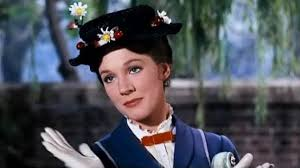 """Julie Andrews in """"Mary Poppins"""" - The supernanny with the mostest, Mary Poppins, comes with the most stylish carpet bag a girl could ask for, a sidekick (her trusty parrot cane) and quick wit.Why is this a good """"breakup"""" classic movie?Because Mary Poppins is single, and quite content to be so."""