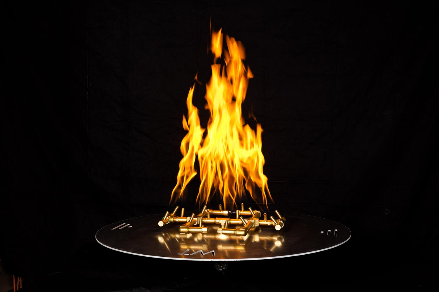 Warming Trends Circular Burner at Chim Chimney Fireplace Pool & Spa