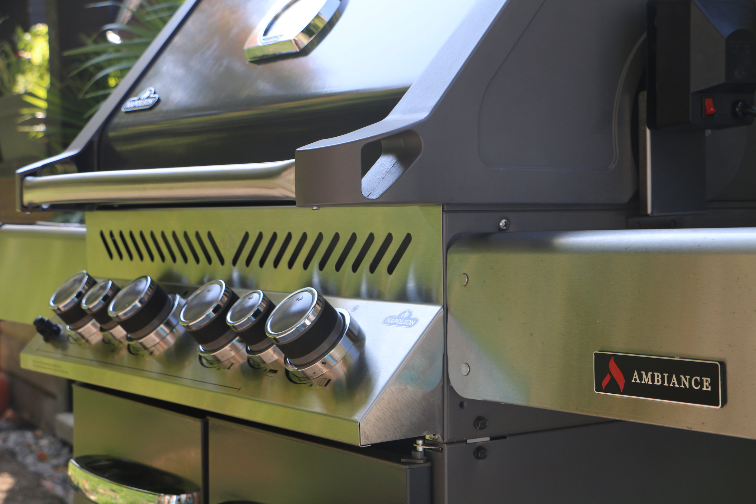 Ambiance BBQ Grills at Chim Chimney Fireplace Pool & Spa