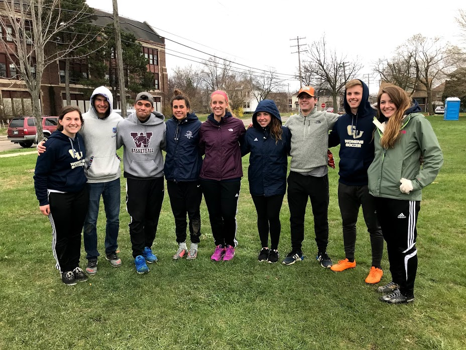 Cornerstone University Men's and Women's Soccer Trip to Detroit