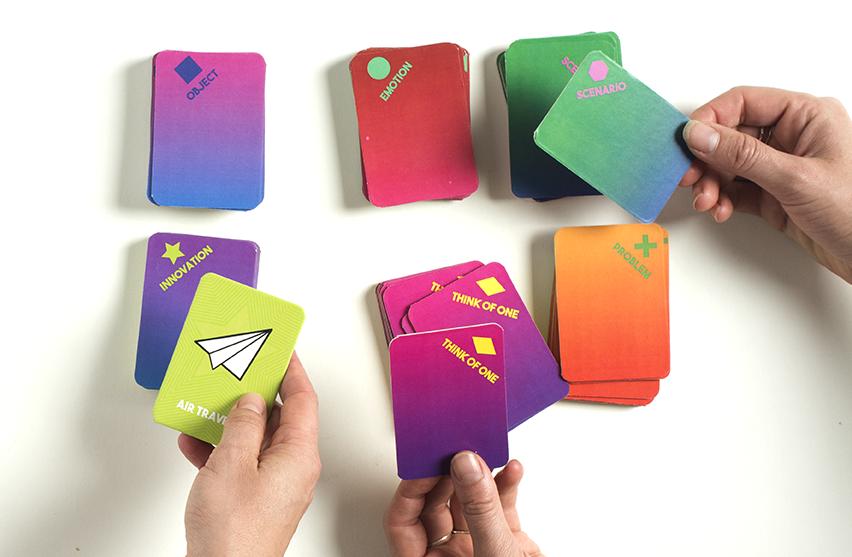 Designercise ideation toolkit by Leyla Acaroglu