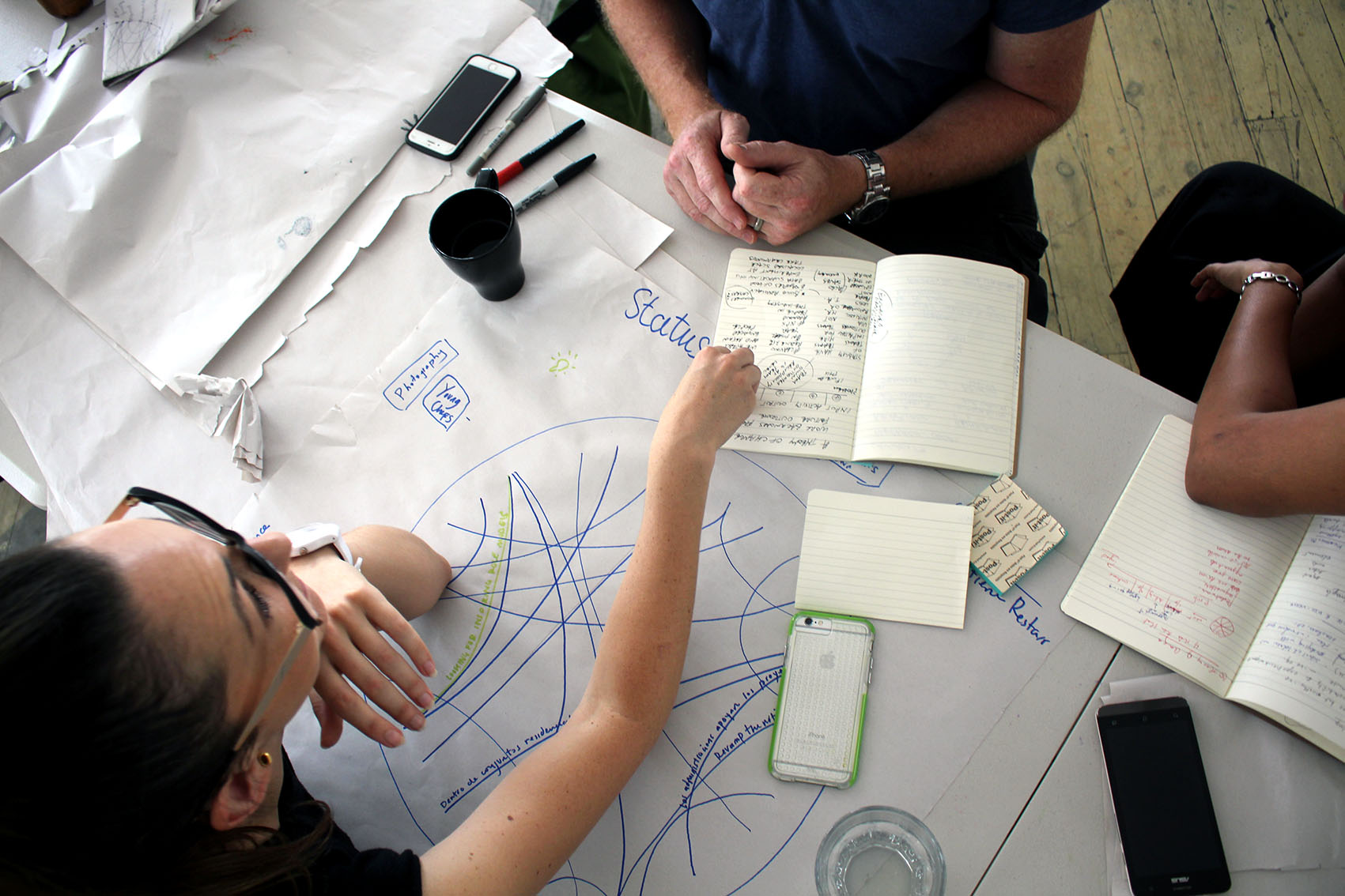 The Disrutpive Design Method - After years of exploring creative change making, Leyla developed the Disruptive Design Method for activating positive social and environmental change combining systems thinking, sustainability sciences and design thinking for positive impact on the planet.