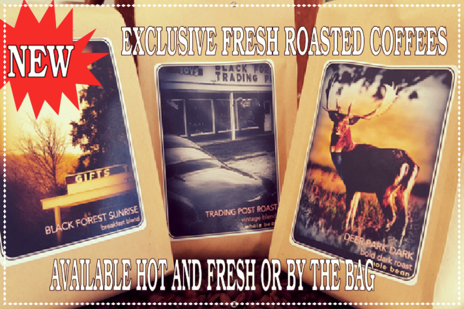 COFFEE - Coffee for sale in bags & in cups. The perfect break from a long drive on Route 6!