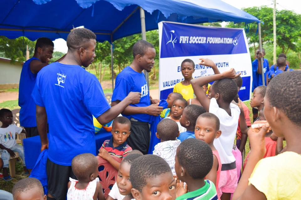 COMMUNITY INVOLVEMENT PROGRAM - $6,000 per year - Our community involvement program is designed to promote hygienic and sanitary environment. All the children and adults in the community engage in a thorough cleaning of the community on Saturdays. They take out trash, clean out gutters, remove weeds and dead leaves. This helps to reduce malaria by removing the breeding grounds for mosquitoes.