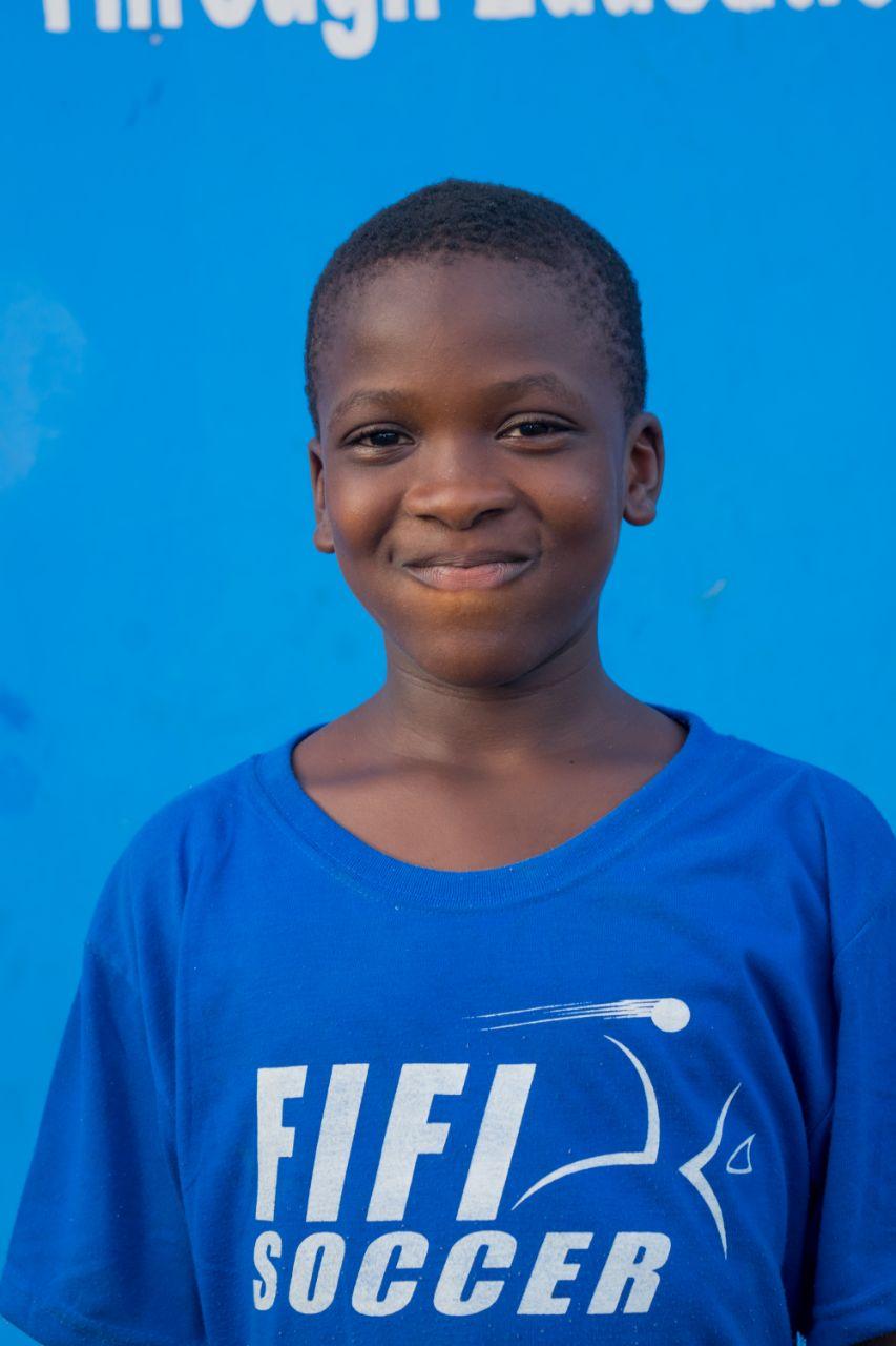 Wadudu Ibrahim - 11 years old | Soldier