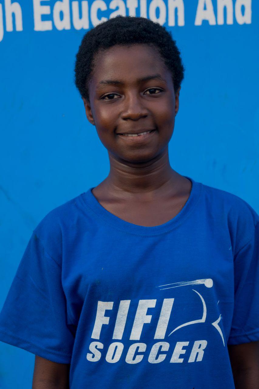 Linda Duku - 12 years old | Nurse